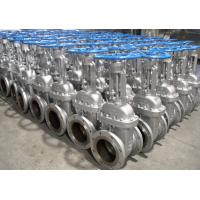 China BW OS&Y BB Full Port  API600 Gate Valve 150#-2500# Pressure BS 1414 Gear Operated wholesale