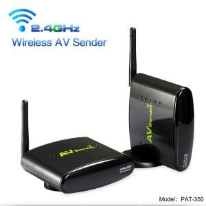 Buy cheap 2.4GHz 250 Meters Camera Video Receiver Sender and Long Range Wireless TV Audio Video AV Sender PAT-350 from wholesalers