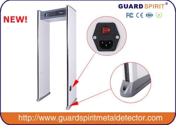 Quality Le détecteur de métaux d'arcade de zone de l'esprit 6 de garde/promenade par le détecteur de métaux avec 4 a mené des colonnes for sale
