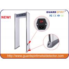 China Le détecteur de métaux d'arcade de zone de l'esprit 6 de garde/promenade par le détecteur de métaux avec 4 a mené des colonnes wholesale