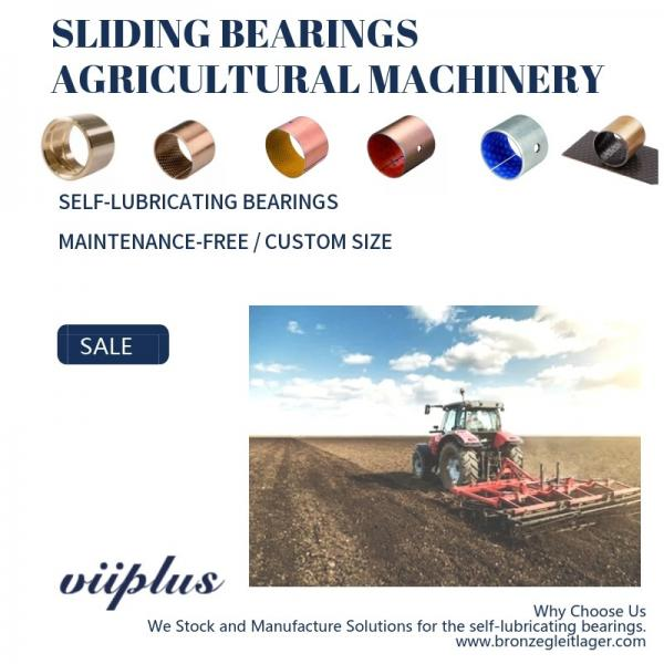 Quality Agricultural Machinery Bronze Bearing For Combine Harvestor Planters Strapping Machines for sale