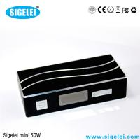 7W - 50W Sigelei 50 Watts Variable Voltage E Cig 0.2 - 3.0 OHM Resistance