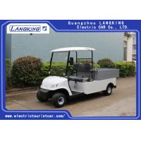 Buy cheap Popular 48 Volts Utility Electric Car , Beverage Golf Cart With Led Lights from wholesalers