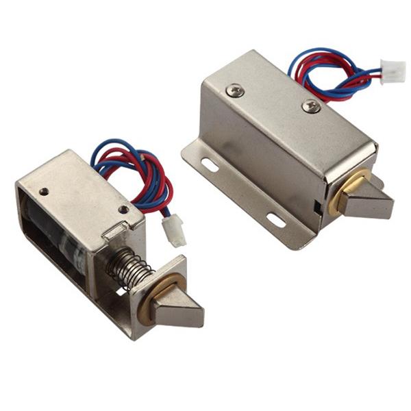Dc 12v solenoid lock images for 12v magnetic door switch