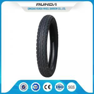 China Wear Resisting Motor Cycle Tires 8PR Rib Pattern Good Air Tightness 7-10MPA wholesale
