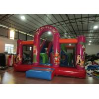China Best sell inflatable combo China pirate themed inflatable combo inflatable bouncer plus slide for commecial wholesale