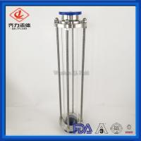 China Extended  Type Long  304 Stainless Steel Sight Glass With Clamp End on sale