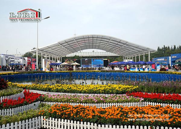 Quality Outdoor Aluminum Frame Event Tent With Clear Top For High Class New Product Launch for sale