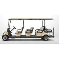 Large Electric 4KW Motor 8 Passenger Golf Cart With 48V Battery Power