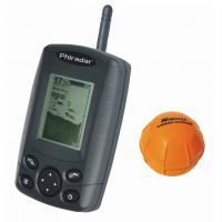 China 4 Levels grayscale portable wireless fish finder FF168W wholesale