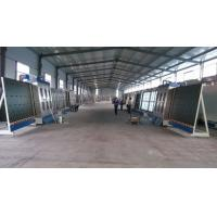 China Large Capacity Vertical Glass Washing Machine With Plc Control System wholesale