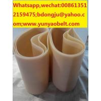 China ISO standard high temperature-resistant silicone conveyor belt for sale wholesale