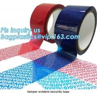China Factory OEM Half transfer Total Transfer and Non-transfer OPEN VOID anti-sheft security tape adhesive security tape on sale