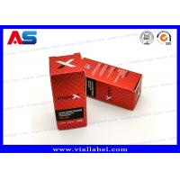 China Laser Boxes For 10ml Vials Injectable Steroids 325g paper Custom Design Fast Shipping on sale