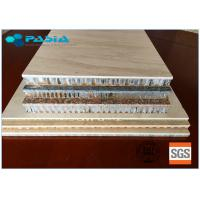 China 2400mm * 2400mm Honeycomb Stone Panels Large Size Marble Veneer Wall Panels wholesale