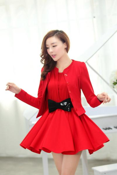 Red Dress Suits For Women | Cocktail Dresses 2016