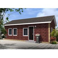 China Easily Install Outdoor prefabricated house kit Prefab Bungalow For Bedroom , Study room wholesale
