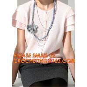China Korean Fashion Women Grey Deep V Neck Cashmere Cardigan, Ladies Sleeveless Knit Cashmere Pullover Sweater wholesale