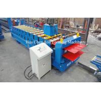 China High Efficiency Double Layer Deck Roll Forming Machines / Roofing Sheet Roll Forming Machine wholesale