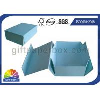 Logo Printed Custom Cardboard Paper Collapsible Box for Clothing Garment Apparel