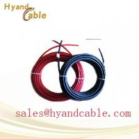 China 25 years warranty TUV CE certificate 4mm pv1 f dc solar cable on sale