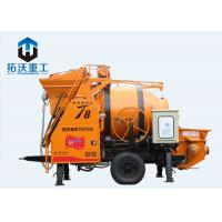 Buy cheap TWTG30 T8 Concrete Mixer Pump / Small Portable Concrete Pump IOS Certification from wholesalers