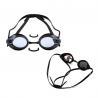 China Triathlon Swimming Goggles White Color , Prescription Water Goggles No Leaking wholesale