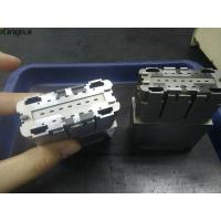 Buy cheap Precision Complex Connector Cavity Mold Inserts Parts 2pcs in1.2344 Steel from wholesalers