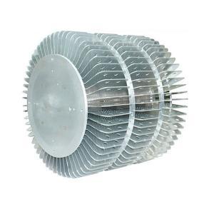 Buy cheap Dissipador de calor de alumínio expulso industrial para o perfil redondo do dissipador de calor da extrusão do dispositivo bonde do diodo emissor de luz from wholesalers