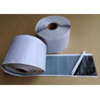 China Waterproof Black Butyl Rubber Tape , Double Sided Adhesive Tape 1.60 - 1.70 g / cm3 wholesale