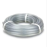 China Factory PVC Pipe Fitting PVC Spiral steel wire reinforced hose/ transparent pvc pipe for Irrigation Sprinkler Agricultur on sale