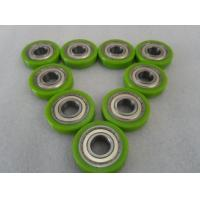 China Erosion resistant Polyurethane Wheels Industrial Bisque PU Coating With Iron Core on sale