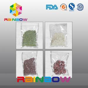 China Embossed Food Vacuum Sealer Bags Rolls , Pastry Bag Bear Low Temperature on sale