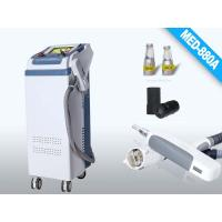 white and gray laser Spot Size 2 , 8mm Q Switched ND YAG Laser  Energy  Tattoo Remover