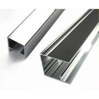 China Square Mechanically Polished Aluminium Profile Extrusion For Building Material wholesale