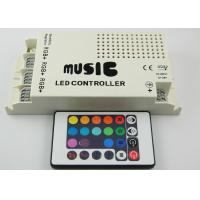 China Three Circuit  DC5V - 24V RGB LED Lighting Controller , LED Light Music Controllers wholesale