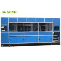 China Automatic Industrial Ultrasonic Cleaner With Mechanical Arm For Solar Silicon Wafer wholesale