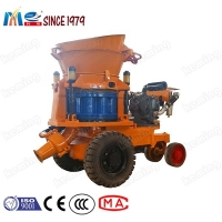 China KPZ-5A Pneumatic Shotcrete Machine For Sale Of Mini Mortar Spray Machines on sale