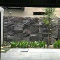 China Random Black Slate Stacked Stone Skidproof For Paver And Wall Decor wholesale