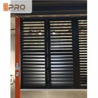 China Outdoor Adjustable Louvers Window , Modern Design Louvered Bifold Shutters wholesale
