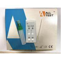 China CE Certified Lateral Flow Immunochromatographic Assays Clostridium difficile Toxin A+ Toxin B Combo Rapid Test Cassette wholesale