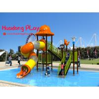 China Promotional Water Park Playground Equipment Plastic Reliable Long Life Span wholesale