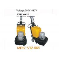 China 12 Heads Stone Granite Concrete Floor Polisher With Multifunction Plate wholesale
