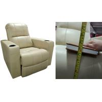 Cream Color Living Room Furniture Recliner Leather Sofa (K10)