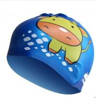 Buy cheap Kids Fun Silicone Swimming Caps for Boys and Girls Sharks & Minnows by WHALE from wholesalers