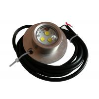 Buy cheap Shockproof IP68 Boat Underwater LED Fishing Lights 10 - 30V DC 3PCS 5W from wholesalers