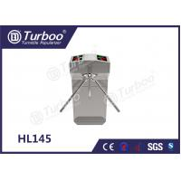 China Pedestrian Gate Turnstile Access Control Security Systems , Vertical Tripod Turnstile on sale