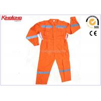 China Customized Anti Shrink Plus Size Coverall Uniforms Hi Visibility Clothing on sale