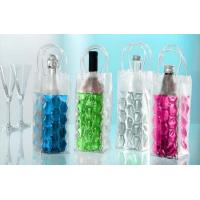 China Reusable Plastic Wine Bottle Cooler Bags For Wine / Beer Packing on sale