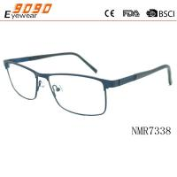China Hot selling  retro  reading glasses with Stainless Steel , Power rang : 1.00 to 4.00D wholesale